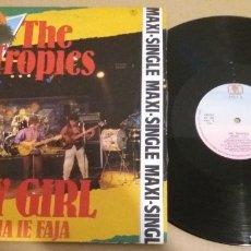 Discos de vinilo: THE TROPICS / MY GIRL / MAXI-SINGLE 12 INCH. Lote 183030278