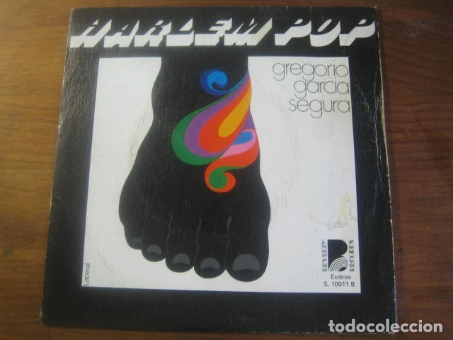 GREGORIO GARCÍA SEGURA - HARLEM POP + 3 ********** RARO EP FUNKY SPANISH GROOVE 1976 (Música - Discos de Vinilo - EPs - Grupos Españoles de los 70 y 80)
