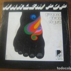 Discos de vinilo: GREGORIO GARCÍA SEGURA - HARLEM POP + 3 ********** RARO EP FUNKY SPANISH GROOVE 1976. Lote 183037698