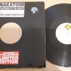 Disques de vinyle: NAKATOMI / CHILDREN OF THE NIGHT / MAXI-SINGLE 12 INCH. Lote 183044666