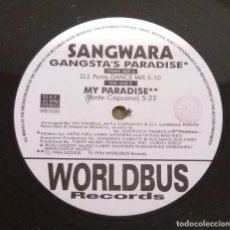 Discos de vinilo: SANGWARA / GANGSTA'S PARADISE / MAXI-SINGLE 12 INCH. Lote 183051853