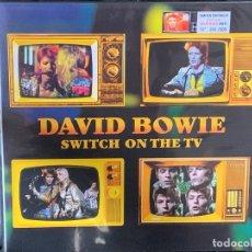 Discos de vinilo: DAVID BOWIE - SWITCH ON THE TV - 1 LP, ED. LIMITADA, MUSTARD SPLATTERED VINYL. Lote 203916662