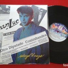 Discos de vinilo: SYNTH POP FRANCES JEAN LUC COUAT ** VISAGE D'ANGE ** MAXI SINGLE VINILO RARO 1987. Lote 183069673