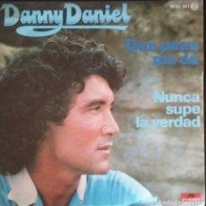 Discos de vinilo: DANNY DANIEL. SINGLE. SELLO POLYDOR. EDITADO EN ESPAÑA. AÑO 1977. Lote 183080128