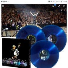Discos de vinilo: BOWIE A REALITY TOUR 3 LP NUEVO. Lote 183080746
