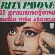 Discos de vinilo: RITA PAVONE. SINGLE. SELLO PHILIPS. EDITADO EN ESPAÑA. AÑO 1968. Lote 183085428
