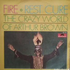 Discos de vinilo: THE CRAZY WORLD OF ARTHUR BROWN. SINGLE. SELLO POLYDOR. EDITADO EN ESPAÑA. AÑO 1968. Lote 183086450