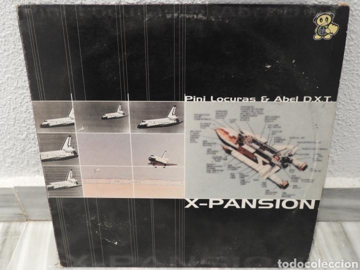 DISCO LP X-PANSION / PINI LOCURAS Y ABEL DXT (Música - Discos - LP Vinilo - Cantautores Españoles)