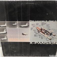 Discos de vinilo: DISCO LP X-PANSION / PINI LOCURAS Y ABEL DXT. Lote 183087282