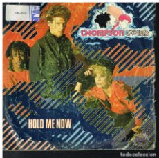Discos de vinilo: THOMPSON TWINS - HOLD ME NOW / LET LOVING START - SINGLE 1983. Lote 183089653