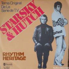 Discos de vinilo: RHYTHM HERITAGE SINGLE DE LA SERIE DE TV. STARSKY & HUTCH SELLO ABC EDITADO EN ESPAÑA 1978. Lote 183089703