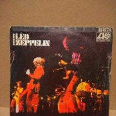 Discos de vinilo: SG LED ZEPPELIN : LA CANCION DEL INMIGRANTE (INMIGRANT SONG ). Lote 183090046