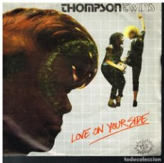 Discos de vinilo: THOMPSON TWINS - LOVE ON YOUR SIDE / LOVE ON YOUR BACK - SINGLE 1983. Lote 183090167