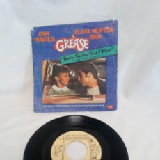 Discos de vinil: GREASE. YOU ARE THE ONE THAT I WANT. SINGLE. Lote 183091148