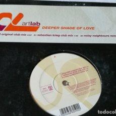 Discos de vinilo: ARTLAB - DEEPER SHADE OF LOVE - 2003. Lote 183091898