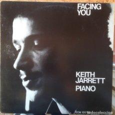 Discos de vinilo: KEITH JARRETT - FACING YOU - LP - 1981 ECM/EDIGSA - ECM 1017 ST EDICIÓN ESPAÑOLA. Lote 183098273