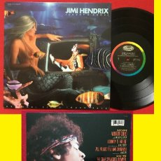 Discos de vinilo: JIMI HENDRIX ~ JOHNNY B GOODE / VOODOO CHILD, MACHINE GUN, RARO ALBUN, DIRECTOS, ORG EDT USA, EX. Lote 183098947