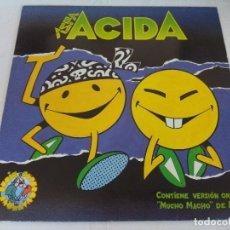 Discos de vinilo: VINILO/ASPA ACIDA.. Lote 183171803