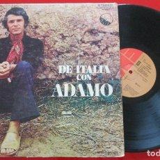 Discos de vinilo: SALVATORE ADAMO *** DE ITALIA *** VINILO ORIGINAL VENEZUELA 1974 LP. Lote 183173768