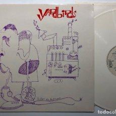 Discos de vinilo: DISCO LP VINILO DE COLOR BLANCO THE YARDBIRDS – ROGER THE ENGINEER EDICION ALEMANA DE 1986. Lote 183174481