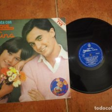 Disques de vinyle: ENRIQUE Y ANA CANTA CON ENRIQUE Y ANA & TOPO GIGIO LP VINILO AÑO 1979 12 TEMAS JOSE LUIS PERALES. Lote 183174676