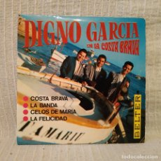 Discos de vinilo: DIGNO GARCIA Y SUS CARIOS - COSTA BRAVA / LA BANDA + 2 (EP BELTER DEL AÑO 1968) EN EXCELENTE ESTADO. Lote 183175047