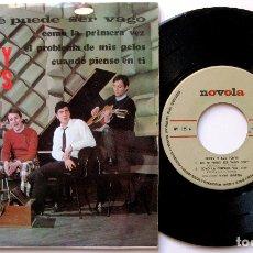 Discos de vinilo: MICKY Y LOS TONYS - NO SE PUEDE SER VAGO +3 - EP NOVOLA 1967 BPY. Lote 183175835