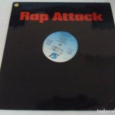 Discos de vinilo: VINILO/RAP ATTACK MIX.. Lote 183176350