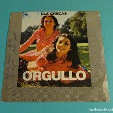 Discos de vinilo: LAS GRECAS. ORGULLO. SOLO CARPETA SIN VINILO. Lote 183176432