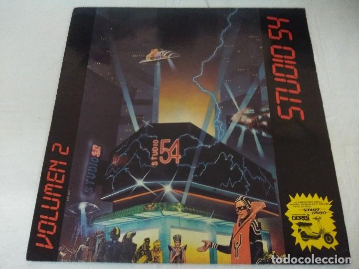 VINILO/STUDIO 54/VOLUMEN 2. (Música - Discos - LP Vinilo - Techno, Trance y House)