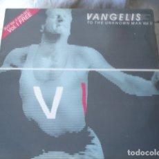Disques de vinyle: VANGELIS TO THE UNKNOWN MAN VOL. II. Lote 183176622
