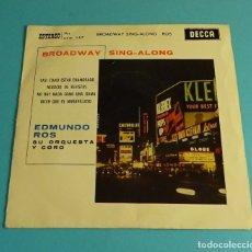 Discos de vinilo: EDMUNDO ROS, SU ORQUESTA Y CORO. Lote 183176741