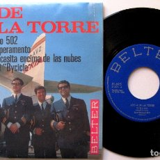 Discos de vinilo: LOS 4 DE LA TORRE - VUELO 502 +3 - EP BELTER 1966 BPY. Lote 183176832