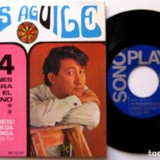Discos de vinilo: LUIS AGUILE - 4 CANCIONES PARA EL VERANO - EP SONOPLAY 1967 BPY. Lote 183181905