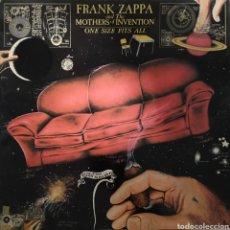 Discos de vinilo: FRANK ZAPPA - ONE SIZE FITS ALL - VERSION WARNER BROS ORIGINAL 1975. Lote 183182746