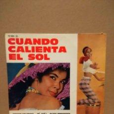 Discos de vinilo: EP MARIO REMEZ Y SUS TIPICOS : CUANDO CALIENTA EL SOL + BESAME MEJICANA + PLAYA ROMANTICA + YE AYE . Lote 183185428