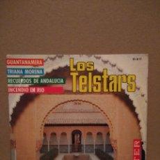 Discos de vinilo: EP LOS TELSTAR : GUATANAMERA. Lote 183187931