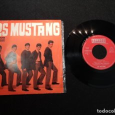 Discos de vinilo: LOS MUSTANG ‎– TELSTAR SINGLE VINILO 1966- 45RPM POP ROCK . Lote 183191715