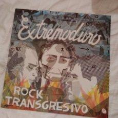 Discos de vinilo: LP EXTREMODURO ROCK TRANSGRESIVO. Lote 183197011