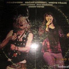 Discos de vinilo: EDGAR & JOHNNY WINTER - ROADWORK WHITE TRASH DOBLE LP - EDICION U.S.A. - EPIC 1972 GATEFOLD. Lote 183199193