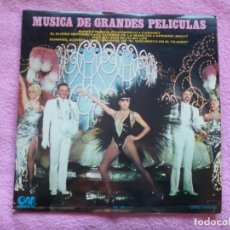 Discos de vinilo: THE BROADWAY SOUND ORCHESTRA,MUSICA DE GRANDES PELICULAS DEL 73. Lote 183199806