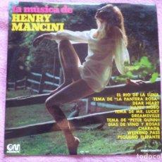 Discos de vinilo: GRAN ORQUESTA SINFONICA AMERICANA,LA MUSICA DE HENRY MANCINI DEL 73. Lote 183199986