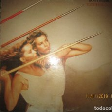 Discos de vinilo: ROXY MUSIC - FLESH + BLOOD LP - ORIGINAL U.S.A. - ATLANTIC 1980 - CON FUNDA INT. ORIGINAL -. Lote 183200657
