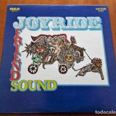 Discos de vinilo: FRIENDSOUND JOYRIDE (RCA LSP-4114 - USA 1969) PSYCHEDELIC EXPERIMENTAL ROCK ORIGINAL LP. Lote 183202476