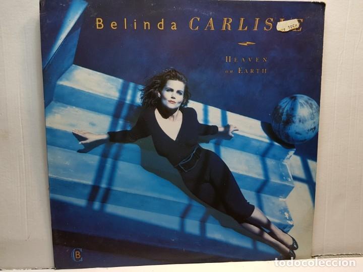 LP-BELINDA CARLISLE-HEAVEN ON EARTH EN FUNDA ORIGINAL AÑO 1987 (Música - Discos - LP Vinilo - Pop - Rock - New Wave Extranjero de los 80)