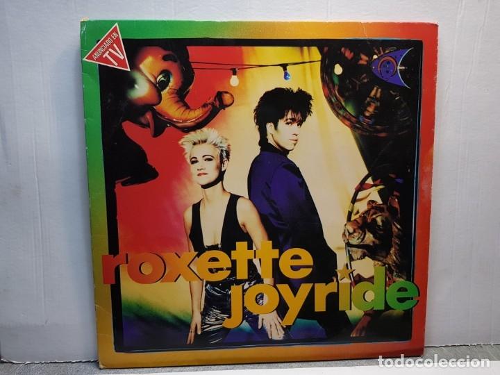 LP-ROXETTE-JOYRIDE EN FUNDA ORIGINAL AÑO 1991 (Música - Discos - LP Vinilo - Pop - Rock - New Wave Extranjero de los 80)