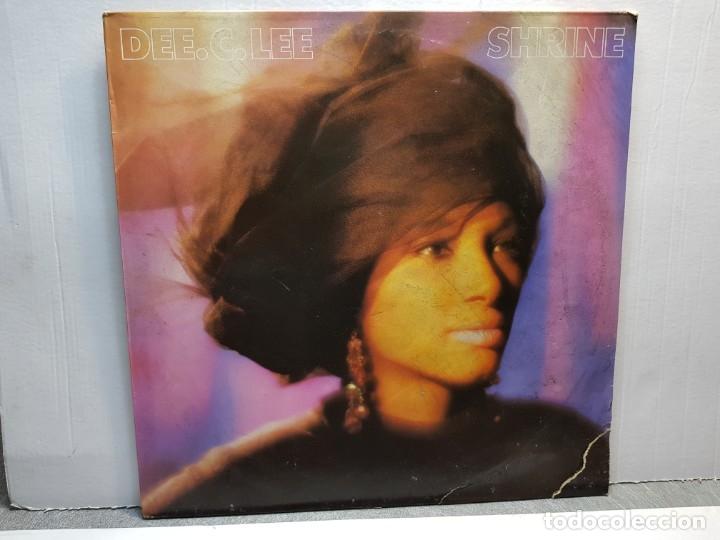 LP-DEE.C.LEE-SHRINE EN FUNDA ORIGINAL AÑO 1986 (Música - Discos - LP Vinilo - Pop - Rock - New Wave Extranjero de los 80)