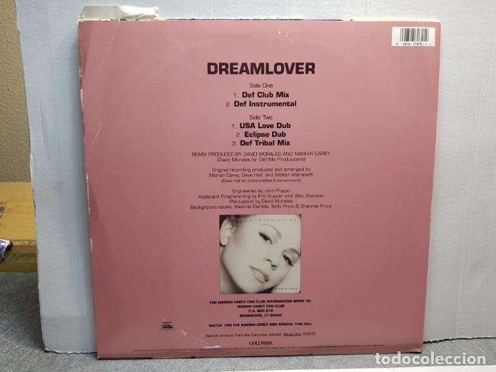 Discos de vinilo: LP-MARIAH CAREY-DREAMLOVER en funda original año 1993 - Foto 2 - 183208056