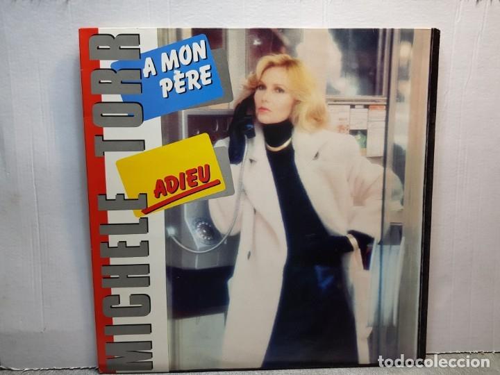 LP-MICHELE TORR-ADIEU EN FUNDA ORIGINAL AÑO 1983 (Música - Discos - LP Vinilo - Pop - Rock - New Wave Extranjero de los 80)