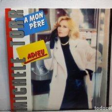 Discos de vinilo: LP-MICHELE TORR-ADIEU EN FUNDA ORIGINAL AÑO 1983. Lote 183208350